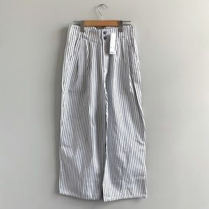 New Urban Outfitters Pin Stripe Wide Leg Trousers